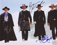 TOMBSTONE CAST AUTOGRAPH SIGNED PP PHOTO POSTER
