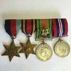 WW2 Medal Bar Group Burma Star & Badge 1939-45 Stars Defence War Medal