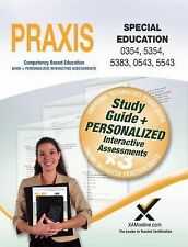 PRAXIS Special Education 0354/5354, 5383, 0543/5543 Book and Online by Sharon...