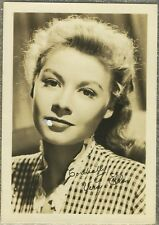 Vera-Ellen 1940s 1950s Movie Star Fan Photo - Small 3-1/2 X 5