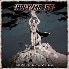 Holy Moses - Redefined Mayhem CD 2014 thrash Germany Steamhammer press
