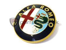 NUOVO di zecca, originale autentico ufficiale ALFA ROMEO anteriore griglia Badge 60596492