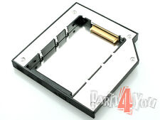 HD-Caddy Adapter HP EliteBook 8460p 8470p zweite SSD HDD Festplatte SATA ers DVD