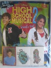Disney High School Musical 2  Panini Complete 205 Stickers Collection + Album