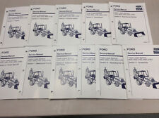 Ford New Holland 455D,555D,575D,655D,675D Tractor Loader Backhoe Service Manual