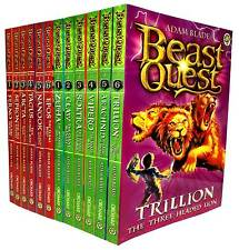 Beast Quest Series 1 and 2 Collection Adam Blade 12 Books Set Vol 1 to 12 NEW PB