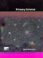 Primary Science (Developing Subject Knowledge series),GOOD Book