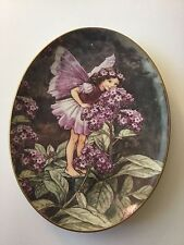 The Heliotrope Fairy Cicely Mary Barker Plate Royal Worcester