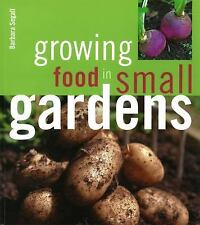 Growing Food in Small Gardens-ExLibrary