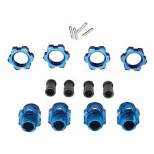 Wheel Hub Set 17mm Short Blue Traxxas Slash 4WD (4) TRA6856X