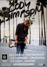 SIMPSON, CODY - 2015 - Tourplakat - Concert - Free - Tourposter