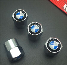 4PCS BMW Tire Wheel Rims Stem Air Valve Caps Tyre Cover Car Truck Bike