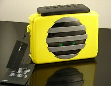 Marc Jacobs Outloud Yellow Cassette Cross Body Clutch Hand Bag MSRP $348  NWT