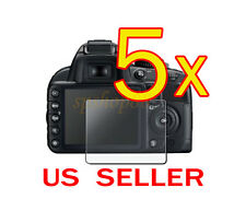 5x Clear LCD Screen Protector Guard Cover Film For Nikon D3100 Camera
