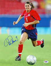 Mia Hamm SIGNED 11x14 Photo Team USA Soccer Legend PSA/DNA AUTOGRAPHED