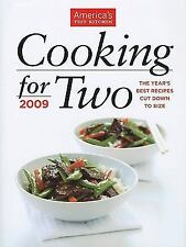 Cooking for Two: 2009,The Year's Best Recipes Cut Down to Size -  - Hardcover