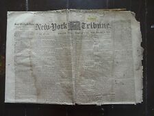 HISTORIC February 7, 1865 New York Tribune Civil War Newspaper