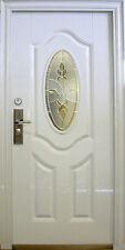N71,Wohnungstür Sicherheitstüren Haustür Tür Türen weiß InnenLinks 08-95x205cm a