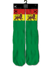 Rasta Multi Color Odd Sox Style Custom Exclusive Footwear New Dope Fashion