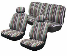 Baja Inca Saddle Blanket Cloth Seat Covers Front Bench Customizable