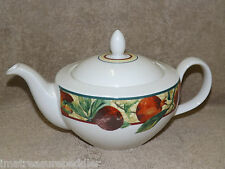Royal Doulton China Augustine (Fruits) Teapot with Lid NWT 4 cup size