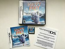 Happy Feet - Complete Nintendo DS Game With Case And Manual!