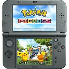 NEW 3DS XL, BLACK * newest model * THE POKEMON BUNDLE, 17 GAMES, 31 CARTOONS