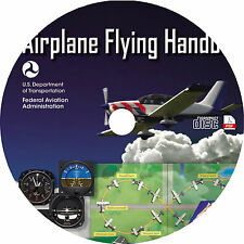 Learn How To Fly A Plane (2016) Aircraft Pilot Training Manual Book on CD