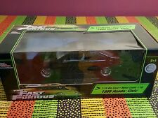 1:18 American Muscle The Fast and The Furious 1995 Honda Civic - NIB
