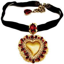 Dolce & Gabbana Heart Choker Necklace