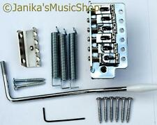 Guitar tremolo bridge vibrato unit springs arm screws chrome st new