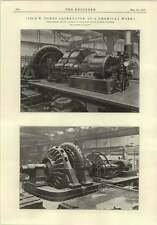 1915 1250 Kw Turbo Alternator At Chemical Works Middlewich Electro Bleach