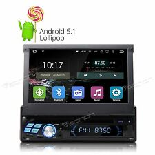 "GA1350F Single 1 Din 7"" Android 5.1 Car Stereo DVD Player GPS Radio Bluetooth E"
