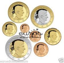 Série 1 cent à 2 euros BELGIQUE 2015