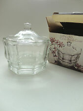 CONCORD CANDY BOX AND COVER {Indiana Glass} Crystal Glass Made in USA