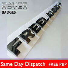 Chrome tailgate Lettering FREELANDER 2 for Land Rover rear back boot badge logo