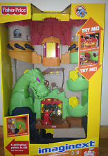 Fisher Price Imaginext Dragon World Castle New Sealed