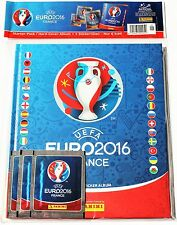 Panini EURO 2016 - Deluxe Starter incl. Hardcover album + 3 packs of stickers