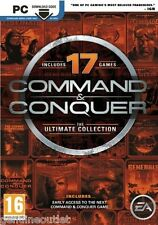Command and Conquer The Ultimate Collection for PC Brand New Factory Sealed