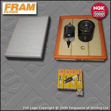 SERVICE KIT VAUXHALL ZAFIRA MK1 1.6 OIL AIR FUEL CABIN FILTER PLUG X16XEL DELPH