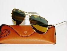 RAY BAN sunglasses 3025 Rayban 3276 w3276 58 GOLD MIRROR  AVIATORS