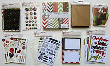 New!  SIMPLE STORIES [DIY Christmas] 6x6 Paper & Embellishments  $45.msrp