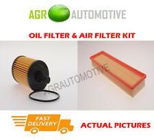 PETROL SERVICE KIT OIL AIR FILTER FOR PEUGEOT PARTNER ORIGIN 1.4 75 BHP 2008-13
