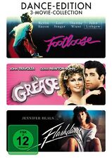 DANCE-EDITION (FOOTLOOSE, FLASHDANCE, GREASE) 3 DVD NEW+