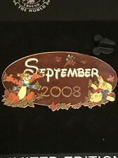 DisneyShopping.com - Calendar (September 2008) Jumbo Winnie the Pooh Pin LE 500