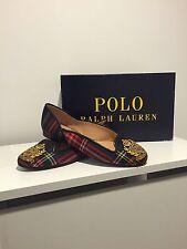 Ralph Lauren Matalyn Windsor Tartan Shoes Ballet Pumps Size 36B Eu 36 BNWB