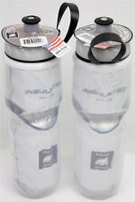 2-Pack Polar Insulated WHITE 24oz Water Bottles Bike/Hiking Dishwasher Safe USA