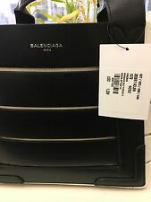BRAND NEW 100 % AUTHENTIC BALENCIAGA CUT OUT LEATHER TOTE W/ TAGS. NEVER WORN.