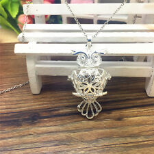 NEW Perfume Fragrance Essential Oil Aromatherapy Diffuser Locket Necklace WT90
