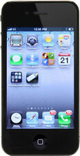 Apple iPhone 4 - 16GB - Black (Orange) Smartphone with FREE bluetooth Speaker